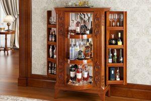 Барный шкаф для гостиной