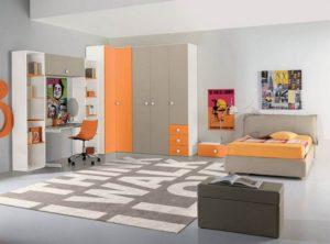 Детская комната с угловым шкафом фото