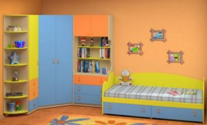 Детские угловые шкафы