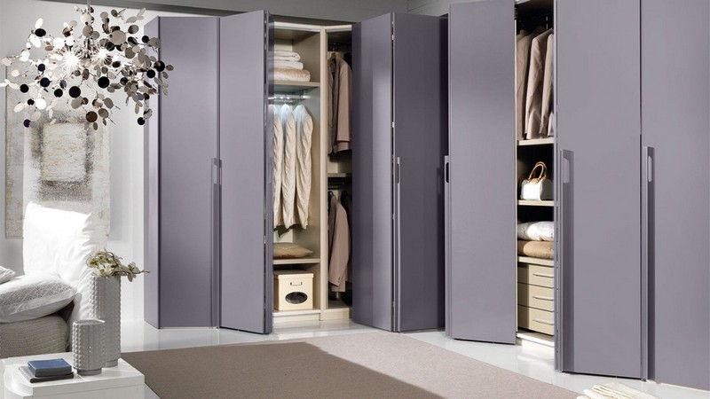 Металлические модели шкафа гармошки со складными дверями