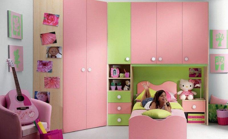 Шкафы для девочек в комнату