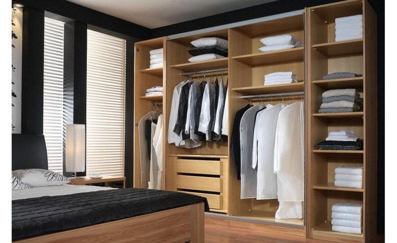 Встроенные гардеробные шкафы