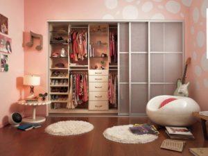 шкаф для девочки подростка в комнату
